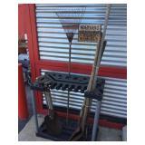 Misc Yard Tools & Rubbermaid Yard Tool Holder