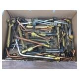 Various Gas Torch Cutters & Additional Bits