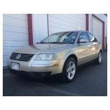 2004 Volkswagen Passat GLX 97,273 Miles