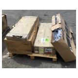 Pallet of Aero Pilates, Treadclimber, Desk&