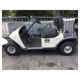 Electric EZGO Tan Cart