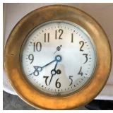 Chelsea Clock Co. Jeweled Brass Ships Bell