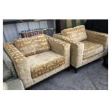 Christian Liaigre Cube Lounge Chair Set of 2