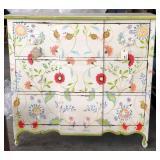 Indonesian Hardwood Chic Motif Dresser