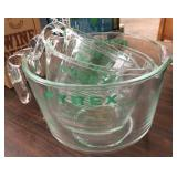 (3) Pyrex Glass Measuring Cups