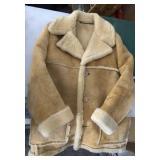 Vintage Cowhide Suede Cresco Outerwear 44 Jacket