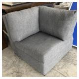 Corner Sofa-Grey (Dent in Frame)
