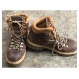 Mens Size 11 Leather Post Card Work Boots