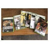 (7) X Box 360 Games