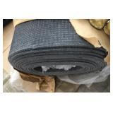 53in Wide Rubber Backing Area Rug-Grey