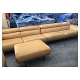 Modern Italian Sectional Couch & Ottoman