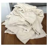 (Size Unknown) Beige Flannel Sheet Set