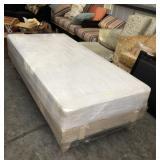 Twin Mattress & Platform Bed Frame