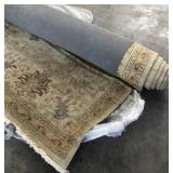 12ft W Hand Woven Oushak Persian Area Rug