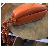 Vintage Trimline - Orange Desk Telephone Rotary