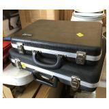 Pair of Vintage Hard Side Cases