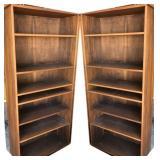 (2) 6ft Bookcase/Shelving Unit