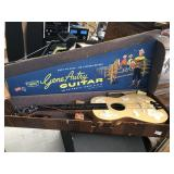 1950s Gene Autry Guitar w/Case