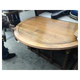 48in Round Drop Double Leaf Table