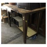 Work Table With Electric Outlets (48in x 24in)