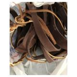 Bag of Leather Straps