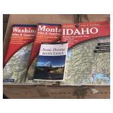 Montana Scenic Driving Book, MT, ID, WA  Maps