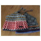 (2) Fleece Lined Jytte Winter Hats