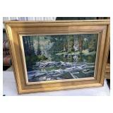 "Original Oil Painting ""Jenny Lake Reflections"""