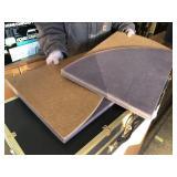 49in Diameter Table Leaf Protectors