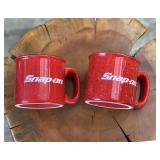 Set of 2- Snap-On Ceramic Mug 14oz Liquid Logic