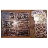 (6) $100, (6) $1 - 1oz Banknote Copper Bars