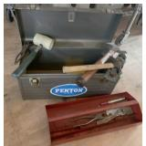 17in Penton Tool Box With Tray & Tools