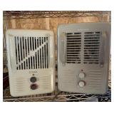 Two Soleil Electric Utility Heaters
