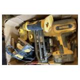 Dewalt Battery Chargers Finish Nailer, Cutout Tool
