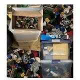 """HUGE"" Collection of LEGOS! (4-Totes Full)"
