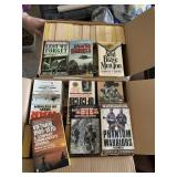 Three Boxes Full of War, Military, History Books