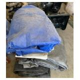 (4) Heavy Duty Tarps