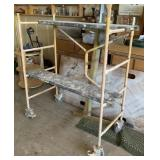 Folding Portable Scaffold 4ft Overall Height