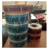 Water, Fiber, Electric Detectable Tape Rolls