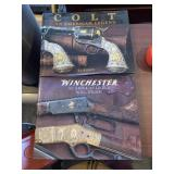 Colt & Winchester Firearm Collectors Books