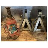 Heavy Duty Bottle Jack & Other Light Duty Jacks