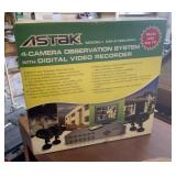 Like New-Astak 4-Camera Observation System & Rec.
