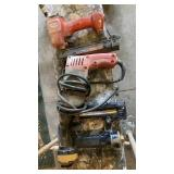 Corded Milwaukee Drill & Two Fastener Guns