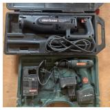 Craftsman 3/4HP Reciprocating Saw & Metabo Drill