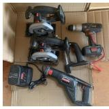 Craftsman Cordless Saws & Drill With Charger