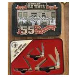 Schrader Old Timer 55th Anniversary Knife Set