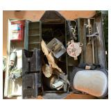 Metal Tool Box Full of Hardware, & Tools,