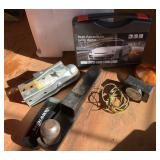 Car Hitch, Trailer Light, Jump Starter, Tire Guage