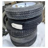 (5) New Spare Tires