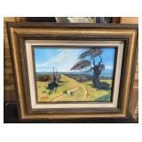 Western Impressionist Landscape Original 9x12